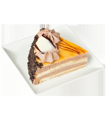 Crème Brûlée and Truffle Cake