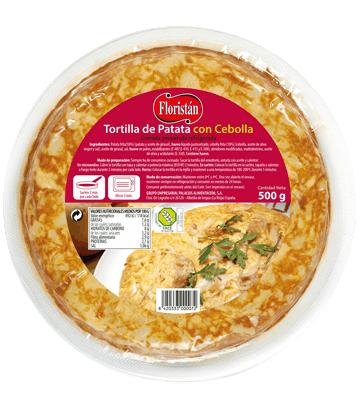 Medium potato omelette with onion