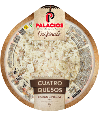 'Pizza Originale' four Cheeses