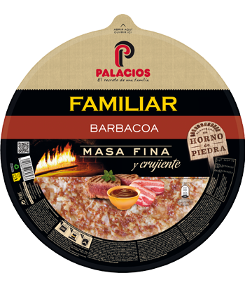 Barbecue Familiar Pizza