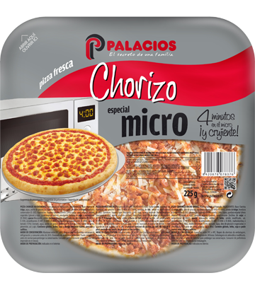 Chorizo Mini Micro Pizza