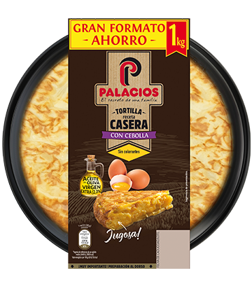 Palacios homemade spanish omelette with onion 850gr