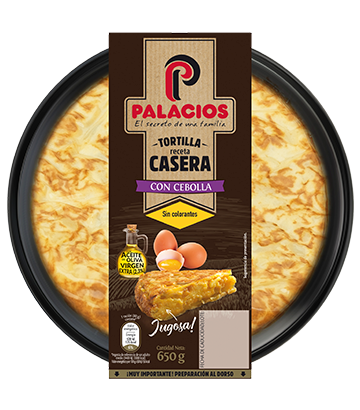 Palacios homemade spanish omelette with onion 650gr