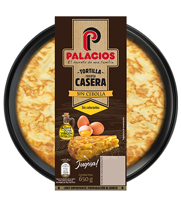 Palacios homemade spanish omelette without onion 650gr