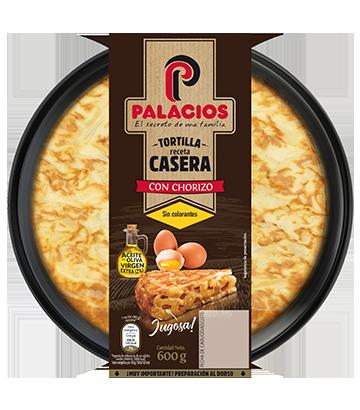 Palacios homemade tortilla with chorizo (650g)