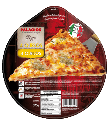 Four Cheese Originale Pizza