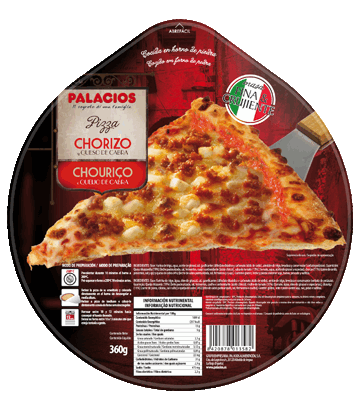 Chorizo and Goat's cheese Originale Pizza