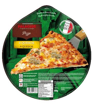 4 cheese Familiar pizza
