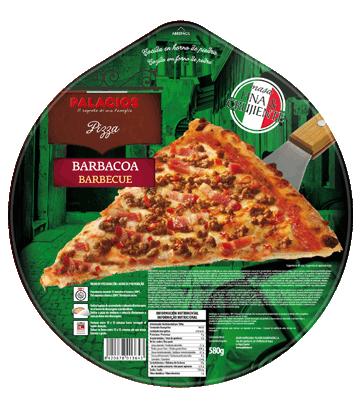 Barbecue Familiar pizza 580g